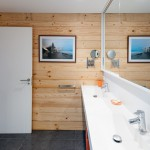 Decora con fotografía – fotografía en marco de madera (Baño)