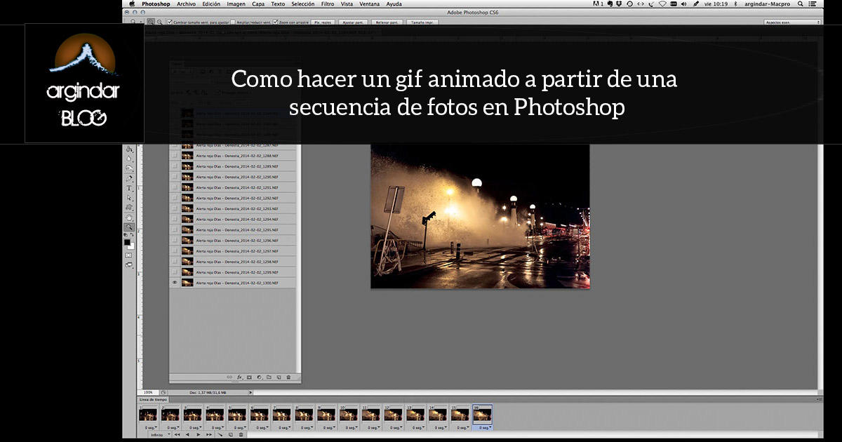 gif animado en photoshop argindarblog