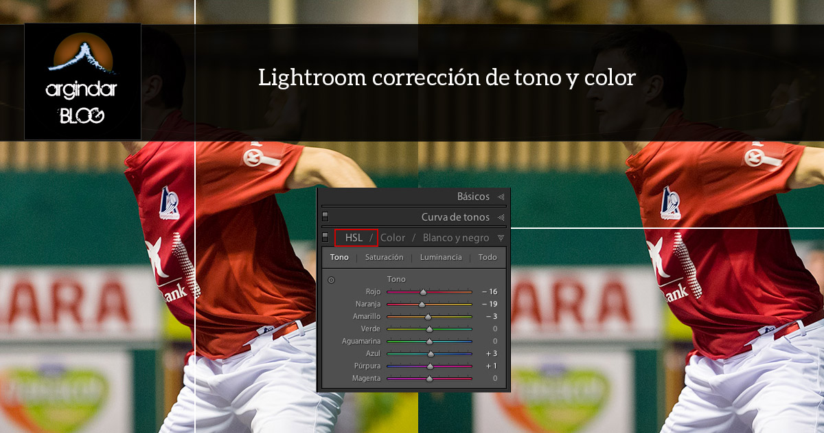 lightroom corrección selectiva de color
