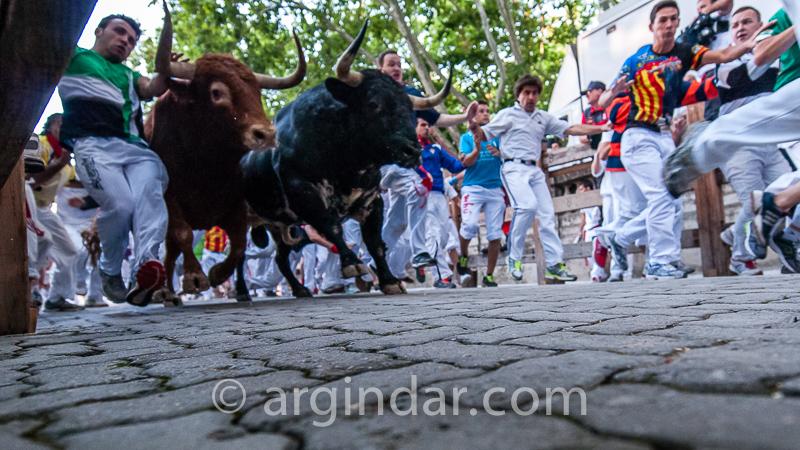 Encierro -2013-07-11 alcurrucén- Entzierroa