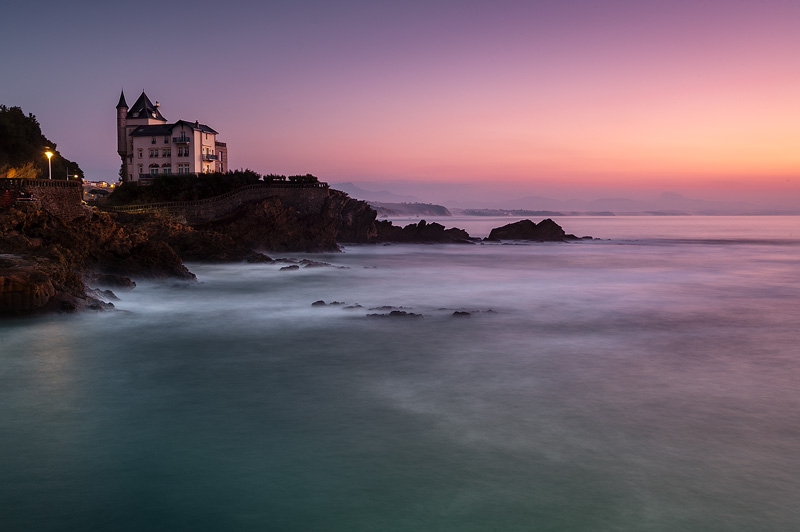 Biarritz ilunabarrean (Photo)