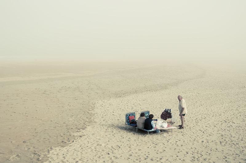 Pique nique en la playa de ondarreta - Donostia